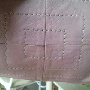 Tignanello Bags - Leather lavender handbag
